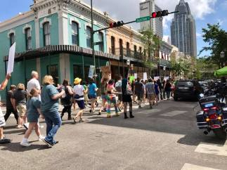 March on Dauphin Street