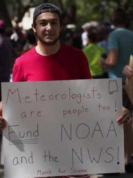 Meteorologists are people too!